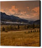 Wolf Creek Pass Canvas Print by Timothy Johnson