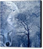 Wolf Canvas Print by Svetlana Sewell