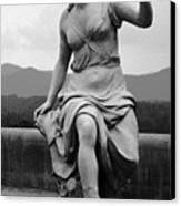 Woman Sculpture Nc Canvas Print