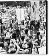 Womens Lib, 1971 Canvas Print by Granger