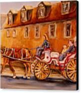 Wonderful Carriage Ride Canvas Print