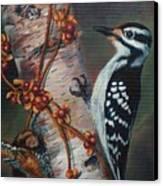 Wood Pecker Canvas Print