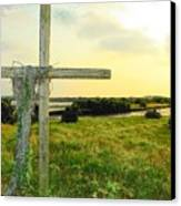 Wooden Cross 1 Canvas Print