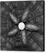 Wooden Fan Canvas Print