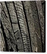 Wooden Water Wheel Canvas Print by LeeAnn McLaneGoetz McLaneGoetzStudioLLCcom