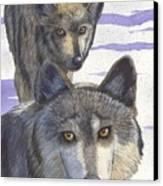 Woofies Canvas Print