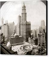 Woolworth Building, 1920s Canvas Print by Granger