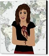 World Pain Canvas Print