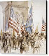 World War I: Victory Parade Canvas Print