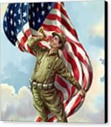 World War One Soldier Canvas Print
