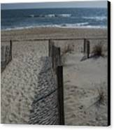 Wrightsville Beach Canvas Print by Janet Pugh