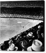 Wrigley Field, Fans Jam The Stands Canvas Print by Everett