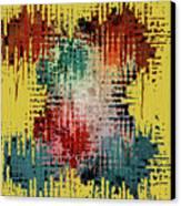 X Marks The Spot Canvas Print by Bonnie Bruno