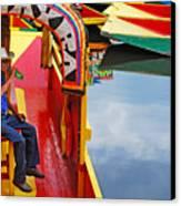 Xochimilco Canvas Print