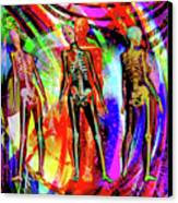 Bones Canvas Print by Joseph Mosley