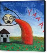 Yaaahhh Canvas Print
