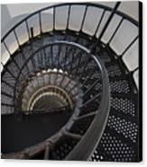 Yaquina Lighthouse Stairway Nautilus - Oregon State Coast Canvas Print by Daniel Hagerman