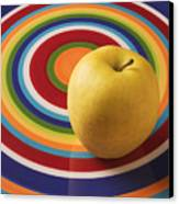 Yellow Apple  Canvas Print