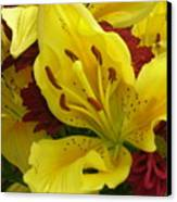 Yellow Floral Canvas Print
