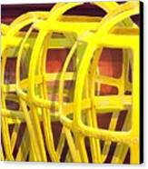 Yellow Guard Canvas Print