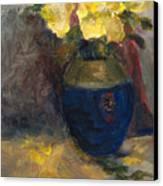 Yellow Roses Canvas Print by Rita Bentley