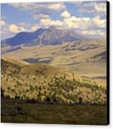 Yellowstone View Canvas Print