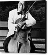 Yo-yo-ma (1955- ) Canvas Print by Granger