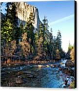 Yosemite Afternoon Canvas Print by Julianne Bradford