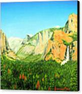 Yosemite National Park Canvas Print by Jerome Stumphauzer