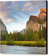 Yosemite Valley View Canvas Print by Buck Forester