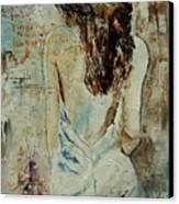 Young Girl  64 Canvas Print