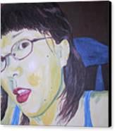 Yuka Canvas Print