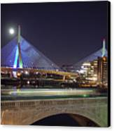 Zakim Bridge Canvas Print