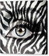 Zebra  Canvas Print by Yosi Cupano