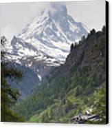 Zermatt Canvas Print by Andre Goncalves