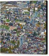 Zermatt From Klein Matterhorn Canvas Print