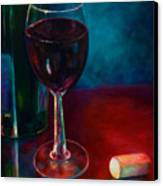 Zinfandel Canvas Print by Shannon Grissom