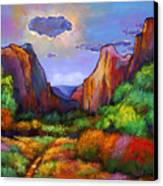 Zion Dreams Canvas Print by Johnathan Harris
