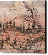 Zion Wall Canvas Print by Viktor Savchenko