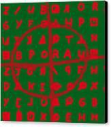 Zodiac Killer Code And Sign 20130213 Canvas Print