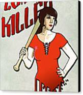 Zombie Killer Canvas Print by Nicklas Gustafsson