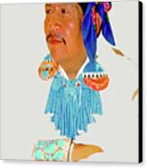 Zuni Indian Canvas Print