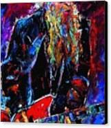 Zz Top Billie Gibbons Canvas Print