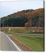 Autumn On 179 Canvas Print