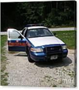 Georgia State Patrol Canvas Print
