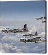 381st Group Outbound Canvas Print