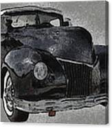 39 Custom Coupe Canvas Print
