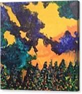 A Hotshot Fire Canvas Print