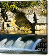 A Quiet Place  Waterfall Canvas Print