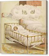 A Young Girl Dreams Of Riding Canvas Print